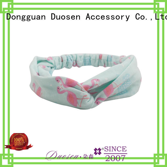 Duosen Accessory red fabric alice band for business for party