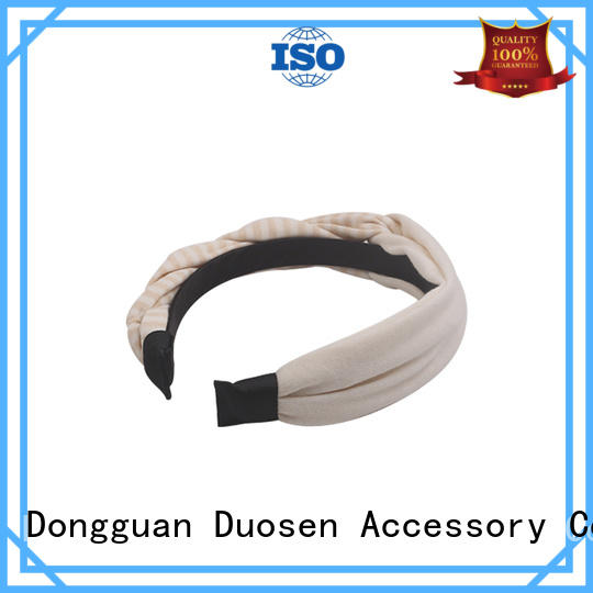 Duosen Accessory fresh fabric headbands wholesale for business for daily Life