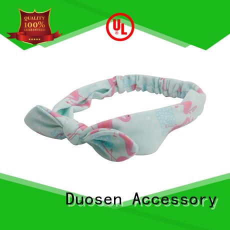 Duosen Accessory convinent organic material knit headband design for party
