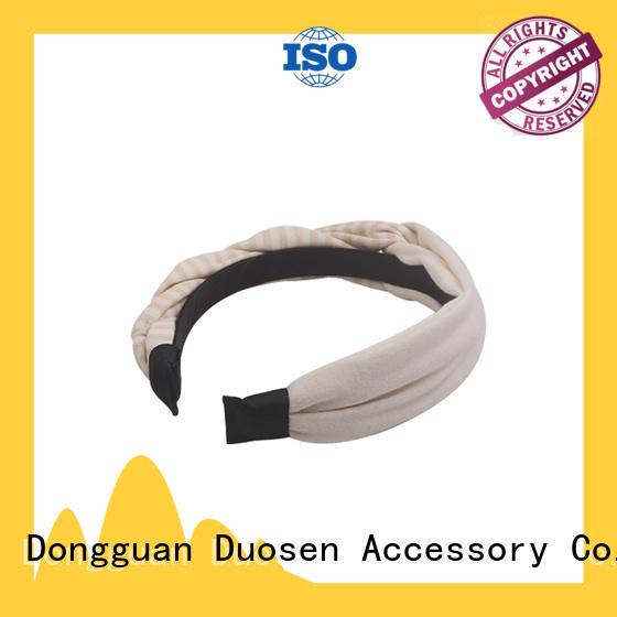 Duosen Accessory Latest eco-friendly headband company for dancer