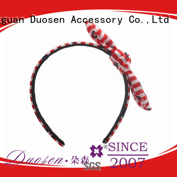 Duosen Accessory fresh girls fabric headbands keep you a wonderful looking for party
