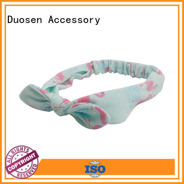 Top fabric elastic headbands black factory for sports