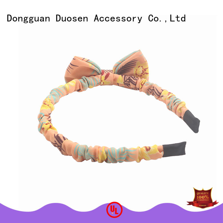 Duosen Accessory sides organic fabric headband with regular use for party