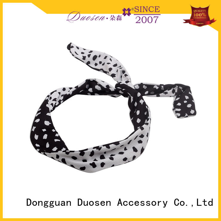 Duosen Accessory color fabric headbands company for running
