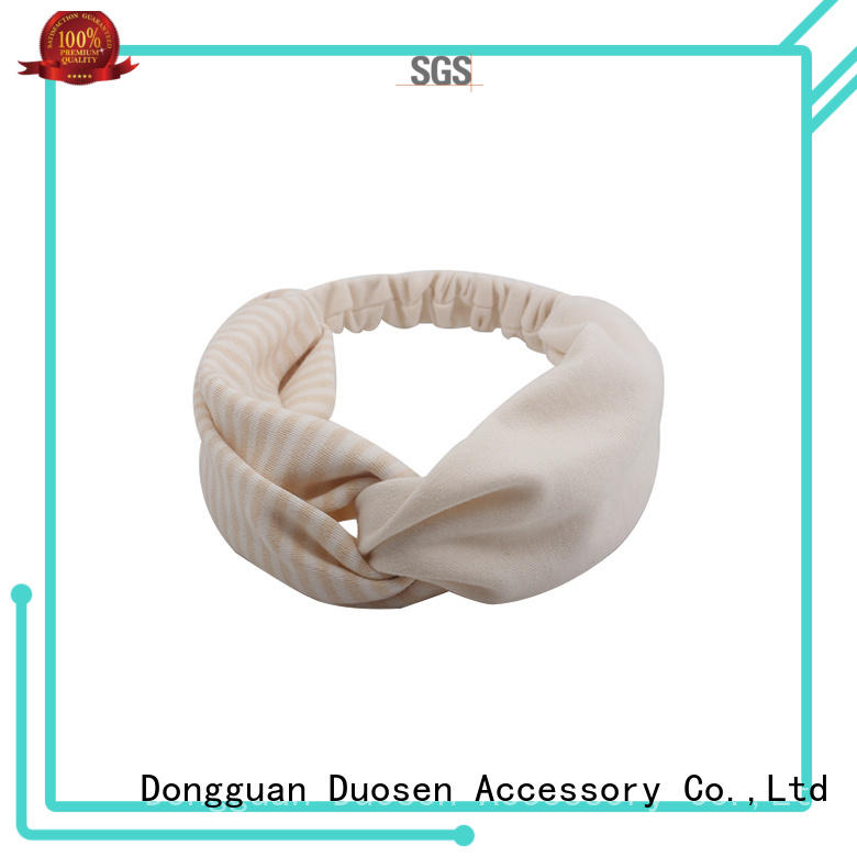 bright organic material designer headband flamingo for dancer Duosen Accessory