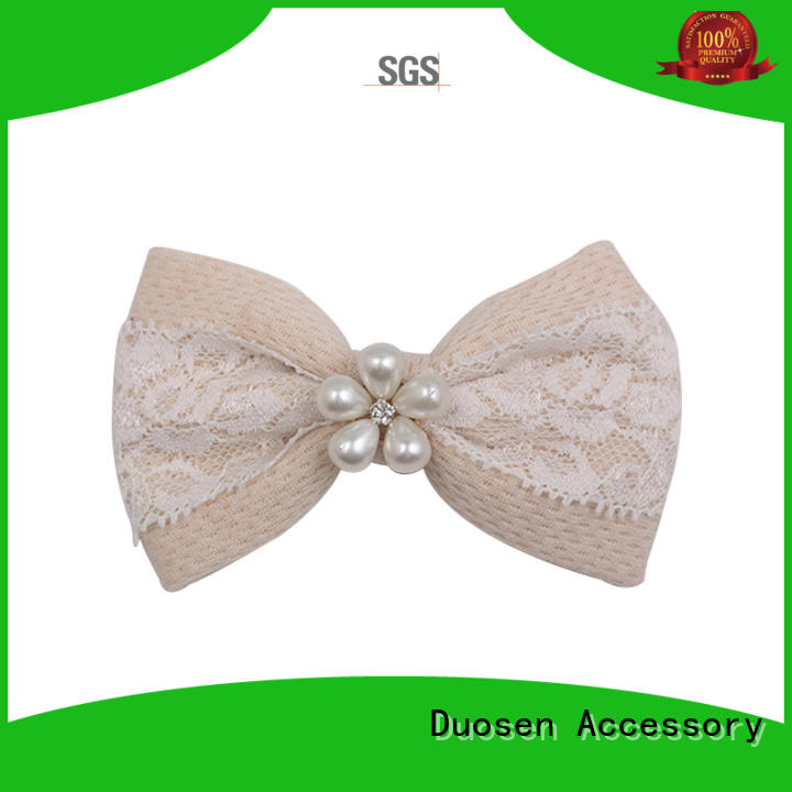 Duosen Accessory online glitter fabric for hair bows series for women