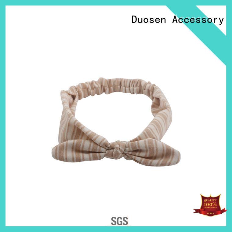 Duosen Accessory fabric fabric headbands wholesale customized for prom