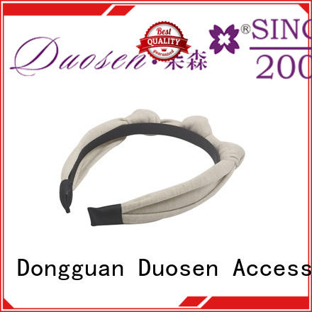 Duosen Accessory changeable turban headband wholesale for party