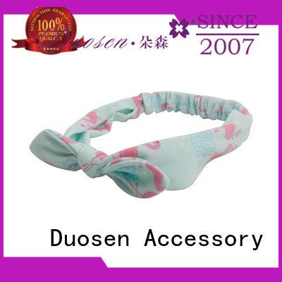 Duosen Accessory Custom womens fabric headbands Supply for running