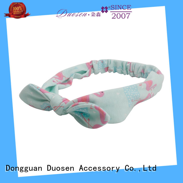 Duosen Accessory Top organic fabric headband for business for running