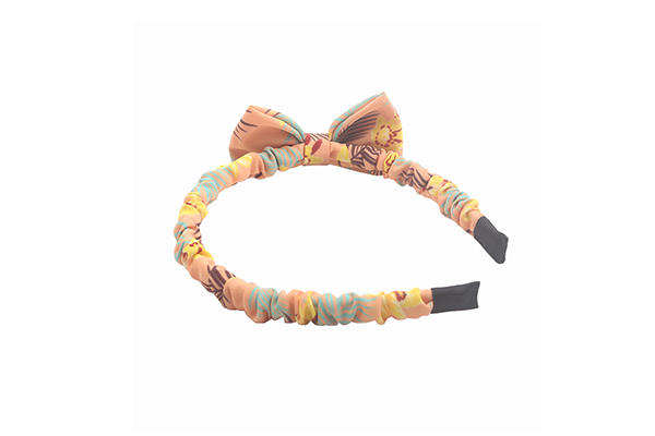 Duosen Accessory ecofriendly twisted fabric headband manufacturer for party
