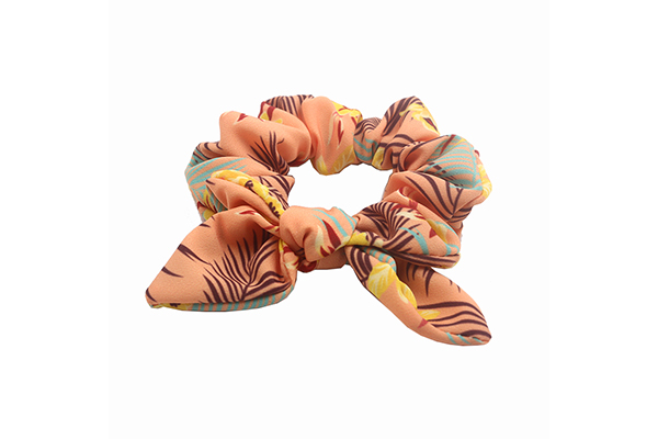 Duosen Accessory Top bow hair scrunchie Supply for women-5