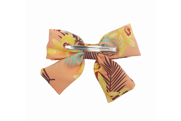 Wholesale how to make flowers out of ribbon for hair bows hawaii Supply for girls-4