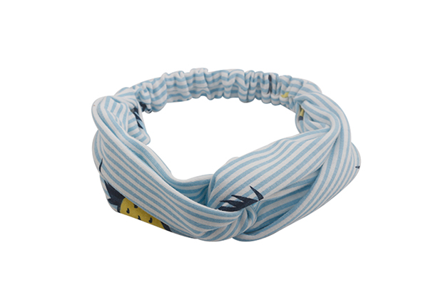 OEM recycled fabric hairband bow series for running-4