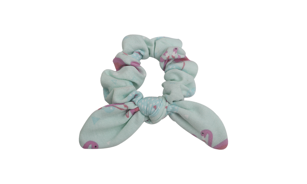 Duosen Accessory Top bow hair scrunchie Suppliers for girls-1
