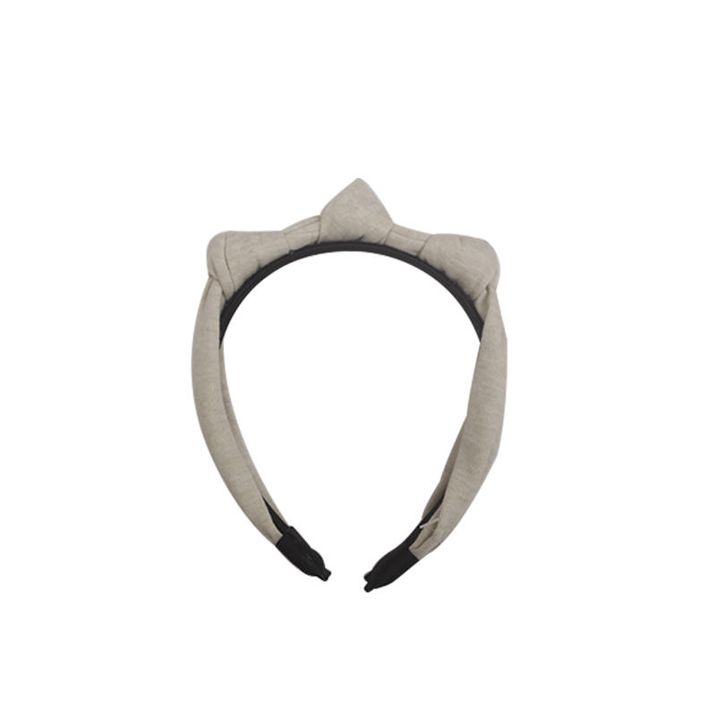 Eco- friendly special design organic fabric headband  three knots hairband