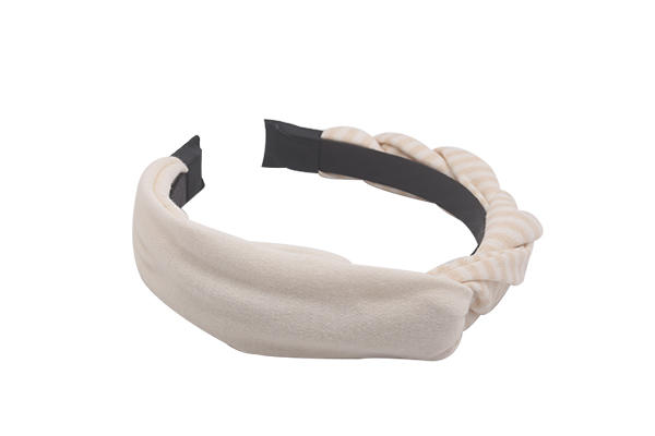 Duosen Accessory ODM twisted fabric headband customized for sports