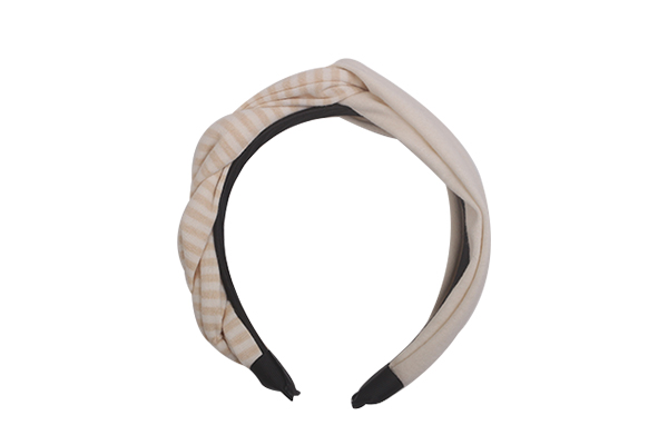 Custom wire fabric headband striped company for sports-4