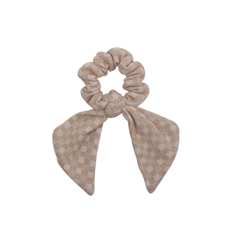 Eco- friendly cute organic fabric scrunch for woman and girls