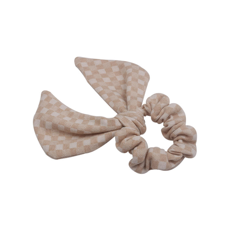 Eco- friendly cute organic fabric scrunch for woman and girls
