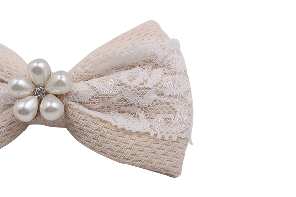 fabric bow hair clip women for girls Duosen Accessory-5