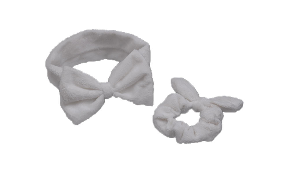 Duosen Accessory bow recycled fabric hairband for business for party-1
