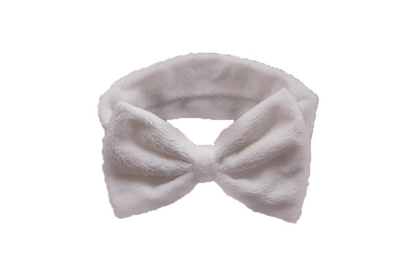Duosen Accessory bow recycled fabric hairband for business for party-3