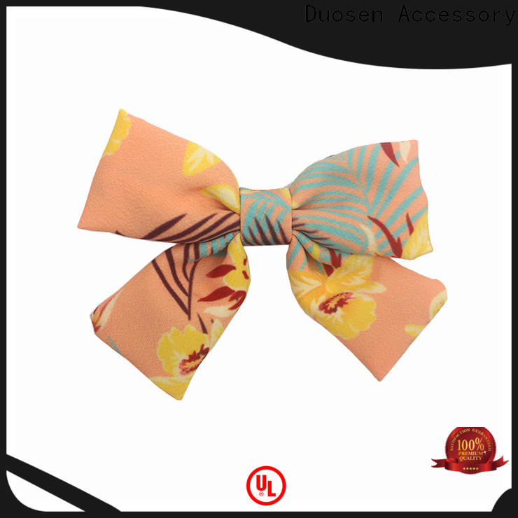 New diy large hair bow accessories factory for party