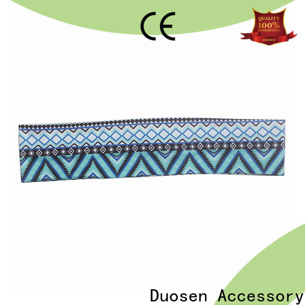 Duosen Accessory Best recycled fabric hairband Supply for party