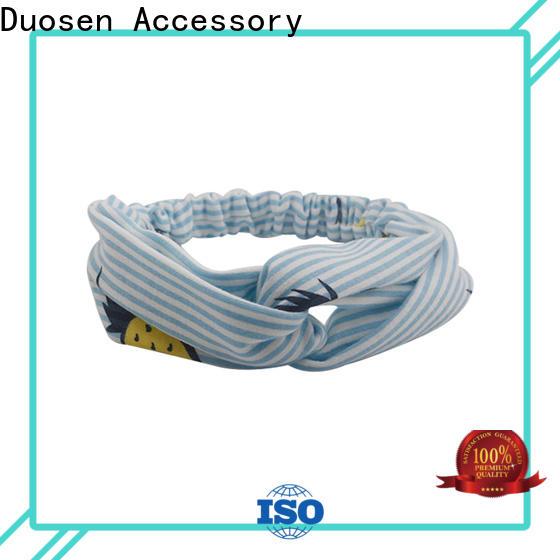 Duosen Accessory unique turban headband Suppliers for sports