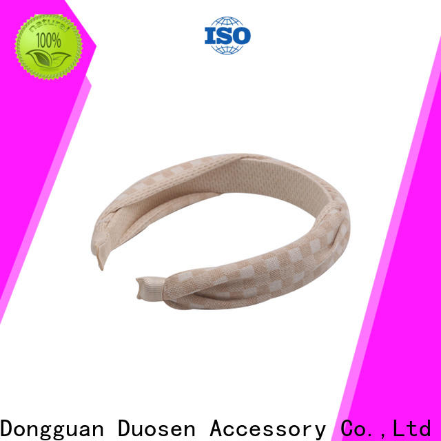 Duosen Accessory milk womens fabric headbands manufacturers for party