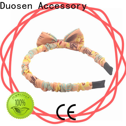 Duosen Accessory hairband organic cotton headband Supply for sports
