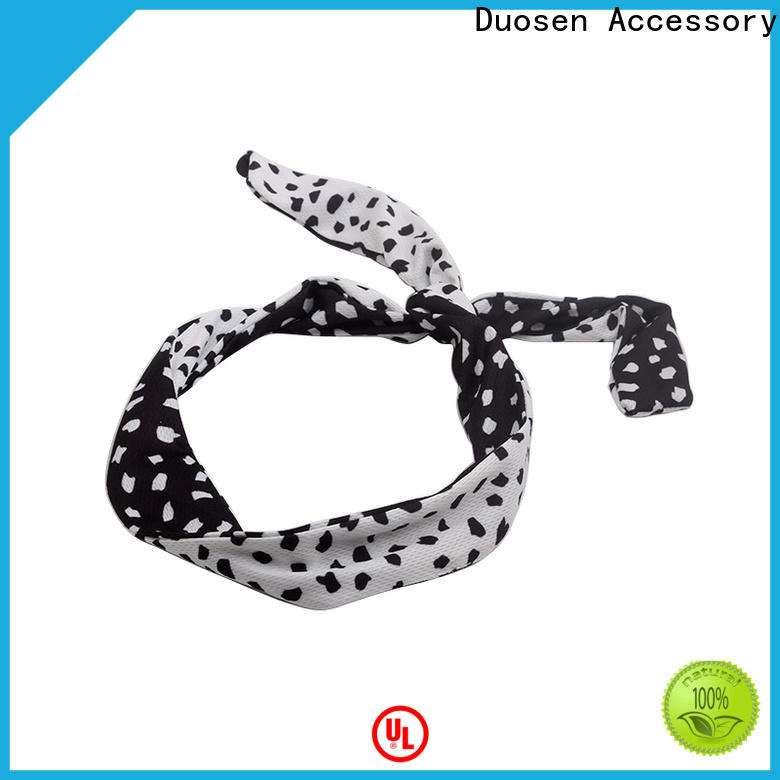 Duosen Accessory hairband cloth hairband manufacturers for sports