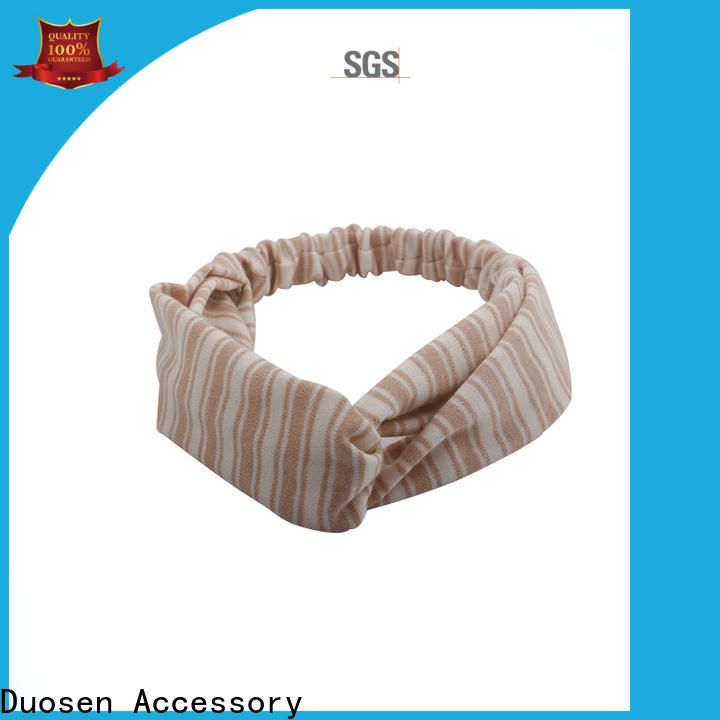 Wholesale organic fabric hairband band Suppliers for running