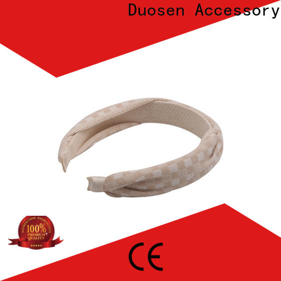 Best organic fabric hairband hairbands company for party