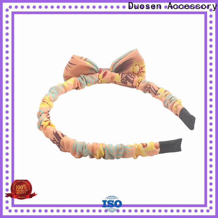 Duosen Accessory Latest turban headband for business for party
