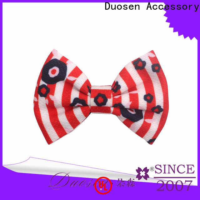 Duosen Accessory soft white flower hair clip Suppliers for women