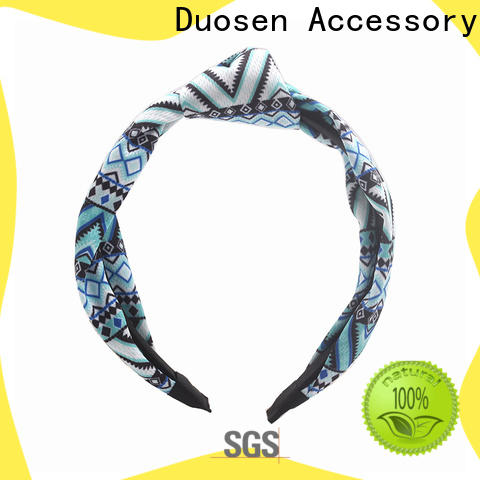 Duosen Accessory Best fabric alice band manufacturers for daily Life
