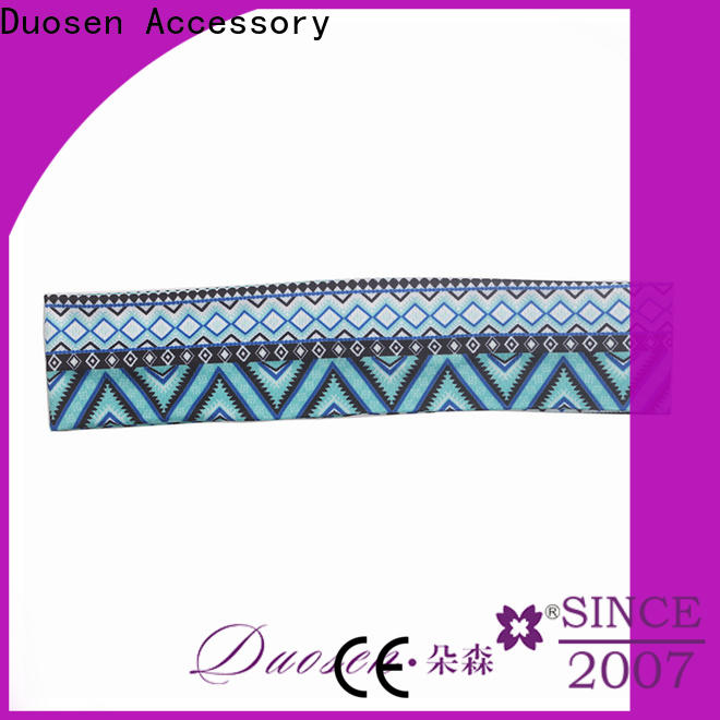 Wholesale womens fabric headbands design Supply for prom