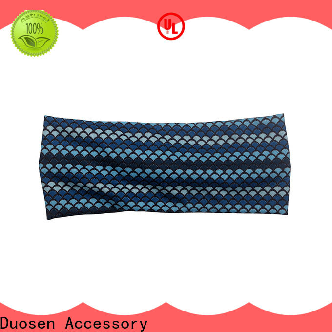 Duosen Accessory High-quality organic fabric bow headband for business for prom