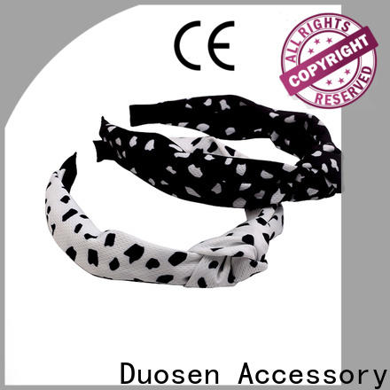 Duosen Accessory New organic cotton headband Suppliers for running
