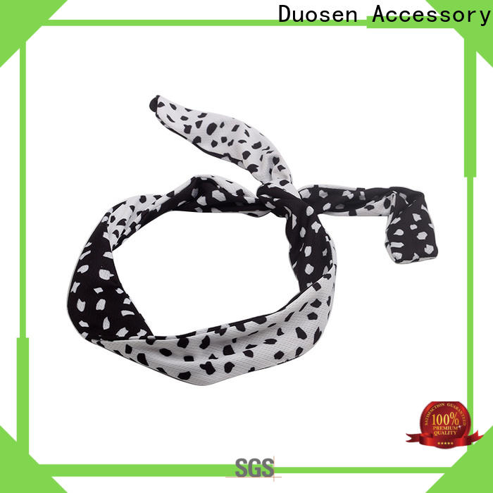 Duosen Accessory High-quality fabric bow headband for business for party