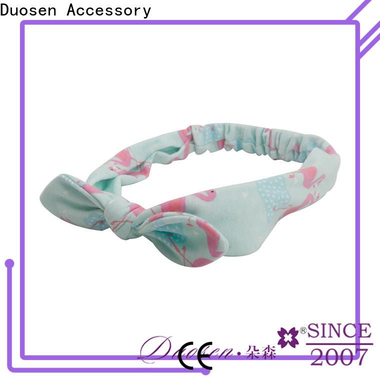 Custom twisted fabric headband organic Supply for party