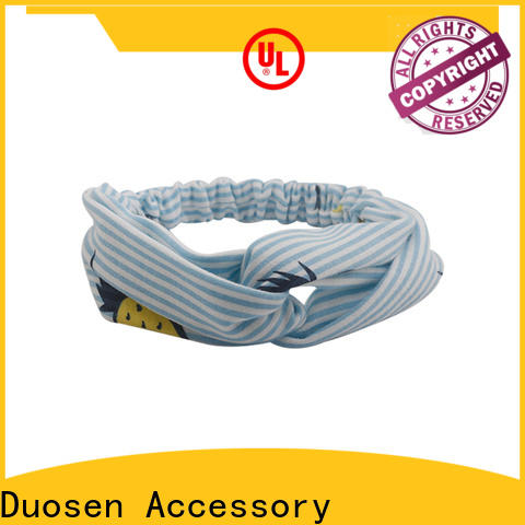 Duosen Accessory Top fabric headbands Supply for dancer