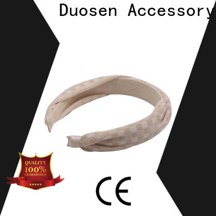 Duosen Accessory Best recycled fabric hairband for business for running