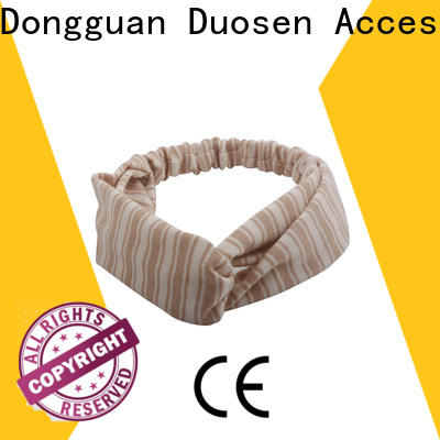 Duosen Accessory soft cloth headbands Suppliers for dancer