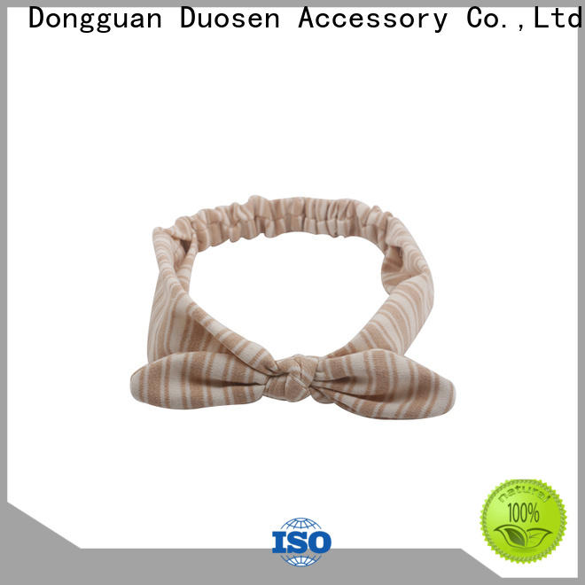 Duosen Accessory geometric cheap fabric headbands Suppliers for daily Life