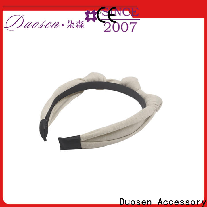Duosen Accessory Top fabric alice band manufacturers for dancer