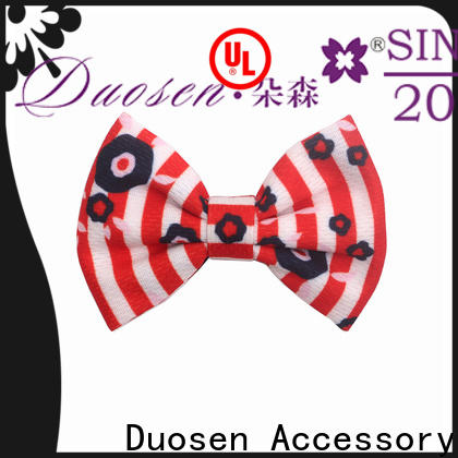 Duosen Accessory Latest making hair bands at home company for women