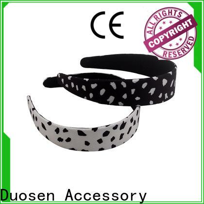 Duosen Accessory Latest organic fabric headband manufacturers for running